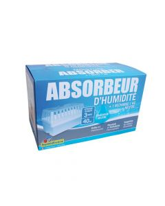 Absorbeur d'Humidité + 1 Recharge 1kg Humidivore