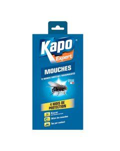 Adhésifs Transparents Anti-Mouches x12 Kapo