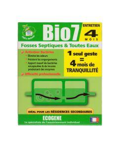 Bio7 Fosses Septiques & Toutes Eaux 250g Ecogene