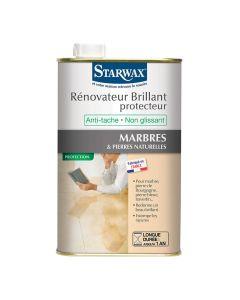 Rénovateur Brillant Protecteur Marbre & Pierres Naturelles 1L Starwax