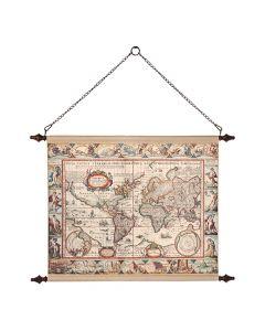 Carte du Monde Antiquité