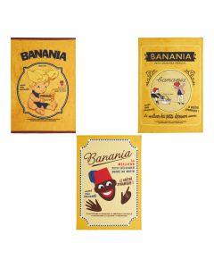 Coffret Banania 3 Torchons Coucke