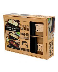 Coffret Raclette et Fondue à la Bougie Cookut