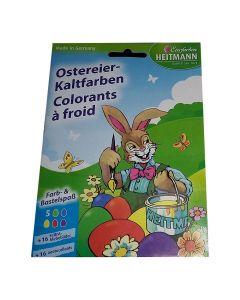 Colorants à Froid + 16 Autocollants Heitmann