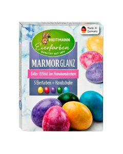 Colorants pour Oeufs de Pâques Effet Brillant Marbré Heitmann