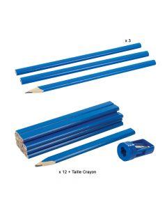 Crayon de Menuisier Silverline