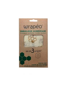 Emballage Alimentaire x3 Wrapéo