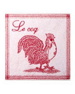 Essuie Mains Coq Rouge Coucke