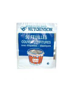 Feuilles Couvre Confiture x50 Hutchinson