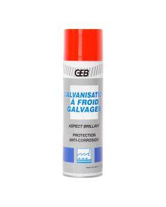 Galvanisation à Froid Brillante Aérosol 500ml Geb