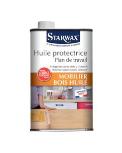 Huile Protectrice Plan de Travail 500ml Starwax