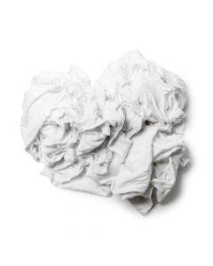 Chiffon Jersey Blanc