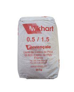 Carbonate de Calcium Mikhart 0.5/1.5 Sac 25kg