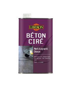 Nettoyant Doux Béton Ciré 1L Liberon