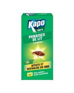 Pièges Punaises de Lit x5 Kapo