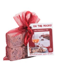 Pierre à Vin en Granit Rose x6 On The Rock