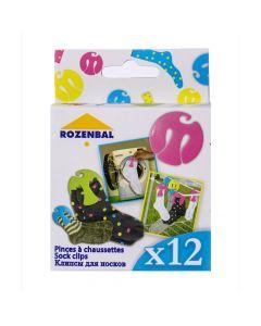 Pinces à Chaussettes x12 Rozenbal