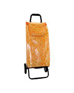 Poussette de Marché Carlux Fruits Orange Sidebag