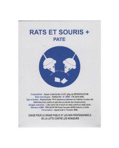 Rats & Souris + Pâte Boite 150g Occi