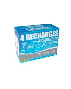 Recharge pour Absorbeur d'Humidité 4x1kg