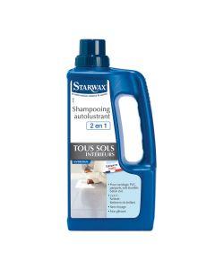 Shampooing Autolustrant Sols Intérieurs Bidon 1L Starwax