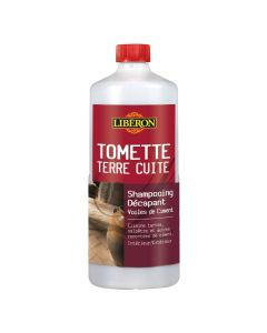 Shampoing Décapant Voiles de Ciment Bidon 1L Liberon