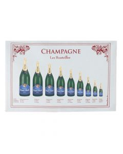 Torchon Bouteilles de Champagne Torchons & Bouchons