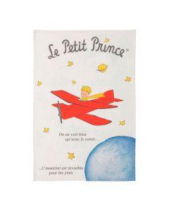 Torchon Le Petit Prince en Avion Coucke