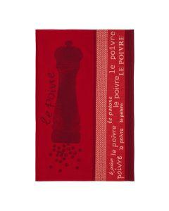 Torchon Poivre Rouge Coucke