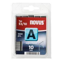 Agrafes Fil Fin 53/10mm Superhart x1000 Novus