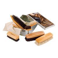 Boîte Métal de Nettoyage à Chaussure Equipée Redecker