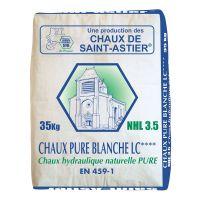 Chaux Hydraulique Pure Blanche