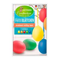 Feuillets Colorants pour Oeufs de Pâques Heitmann