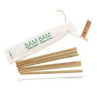 Pailles en Bambou x6 Cookut