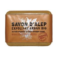 Savon d'Alep Exfoliant à l'Argan Bio 100g Aleppo Soap